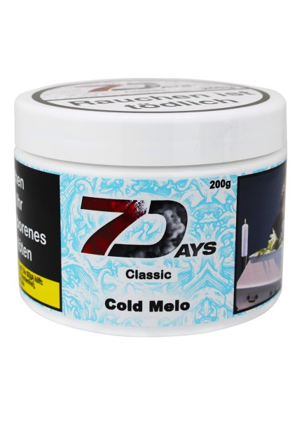7 Days Tabak Classic 200g - Cold Melo 5