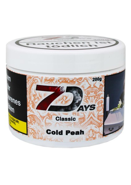 7 Days Tabak Classic 200g - Cold Peah 7
